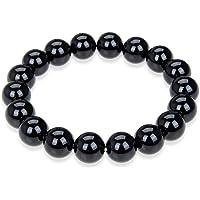 "Adabele Natural Gemstone Bracelet 7"" 7.5"" 8"" 8.5 inch Stretchy Chakra 10mm (0.39"") Beads Gems Stones Healing Crystal…"