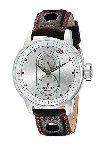 Invicta Men's 16019 S1 Rally Analog Display Japanese Quartz Black Watch