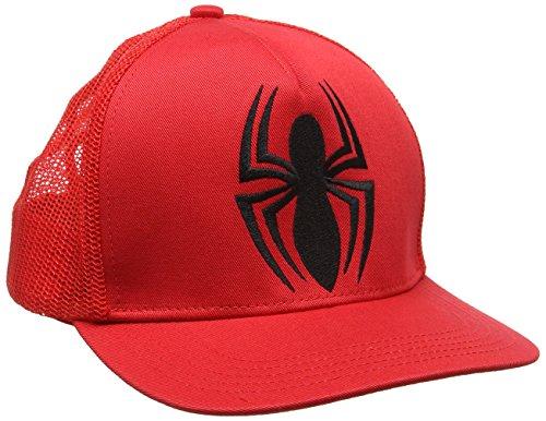 Kids Adulto Unisex Béisbol Logo Gorra Talla única Rosso Marvel Spider de Man fyRwttqO
