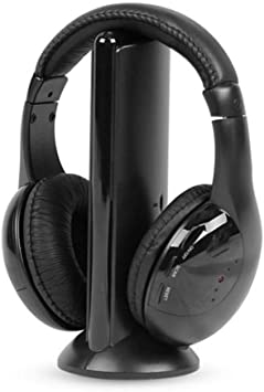 """/"""" PC Detachable Headsets Microphone For Stereo Gaming And Wireless PS4 Black"""