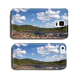 River in Jokkmokk cell phone cover case iPhone5