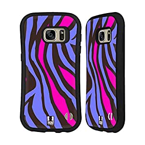 Head Case Designs Marble Mad Print 2 Hybrid Case for Samsung Galaxy S5 / S5 Neo