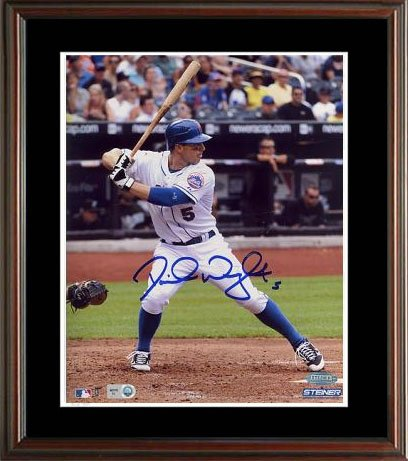 David Wright Signed Steiner Framed Photo-16x20