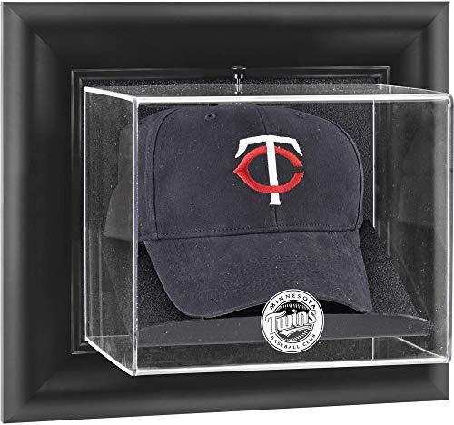 Mounted Memories Minnesota Twins Framed Wall Mounted Logo Cap Display Case -