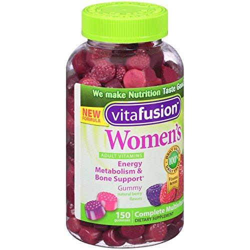 Vitafusion Womens Gummy Vitamins Natural Berry Flavors 150