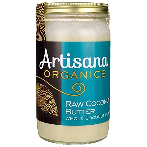 Artisana Organics - Coconut Butter, Whole Coconut Puree, Single Ingredient Handmade Rich & Thick Spread, USDA & QAI Organic Certified, Non-GMO, Vegan & Gluten Free (14 OZ)