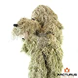 Arcturus Ghost Ghillie Suit - Includes Matching Rifle Wrap (Dry Grass, Regular)