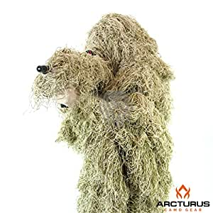 Ghost Ghillie Suit (Dry Grass, Extra Large)