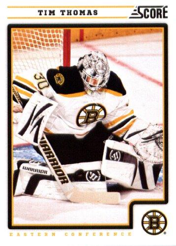 Tim Thomas Boston Bruins (2012/13 Score NHL Hockey Card # 57 Tim Thomas Boston Bruins)