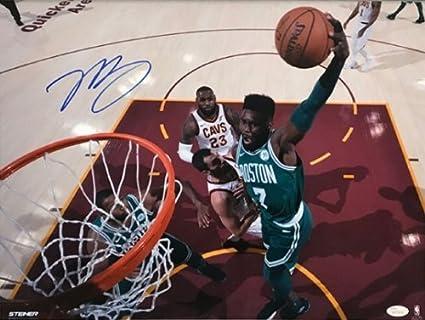 d4a9dc44dbe Amazon.com  Jaylen Brown Boston Celtics Signed Autographed Dunk ...