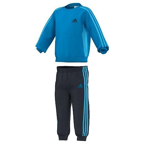 Adidas - Chándal para niños de 3 Rayas Jogger Solblu lgaqua lgaqua ... f92b583c3790