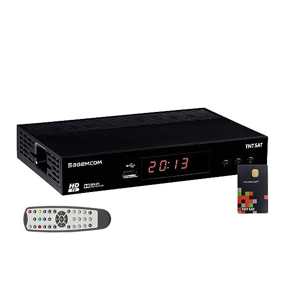 Sagemcom DS81 HD - Receptor Satellite Astra + Tarjeta TDT ...