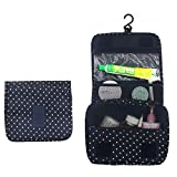 Itraveller Portable Hanging Toiletry Bag/ Portable Travel Organizer Cosmetic Bag for Women Makeup or...