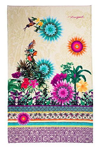 Desigual 61WL0A0Ã'Â Botanical Dream Bath Towel,