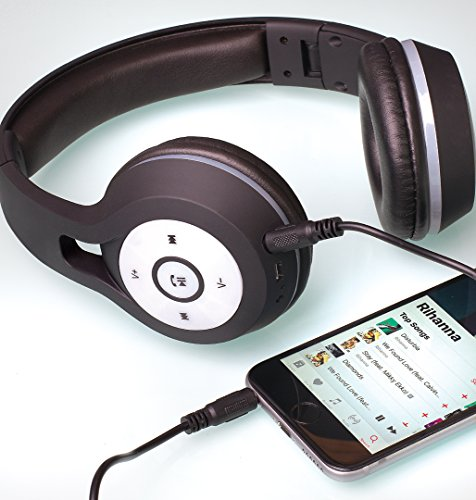 SoundLogic XT inalámbrica Bluetooth auriculares estéreo auriculares de luz con Led luces, plegable, ajustable: Amazon.es: Electrónica