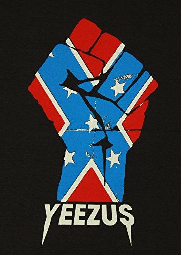 Lectro Yeezus T-Shirt Flag God Wants You New Black Tee Size M