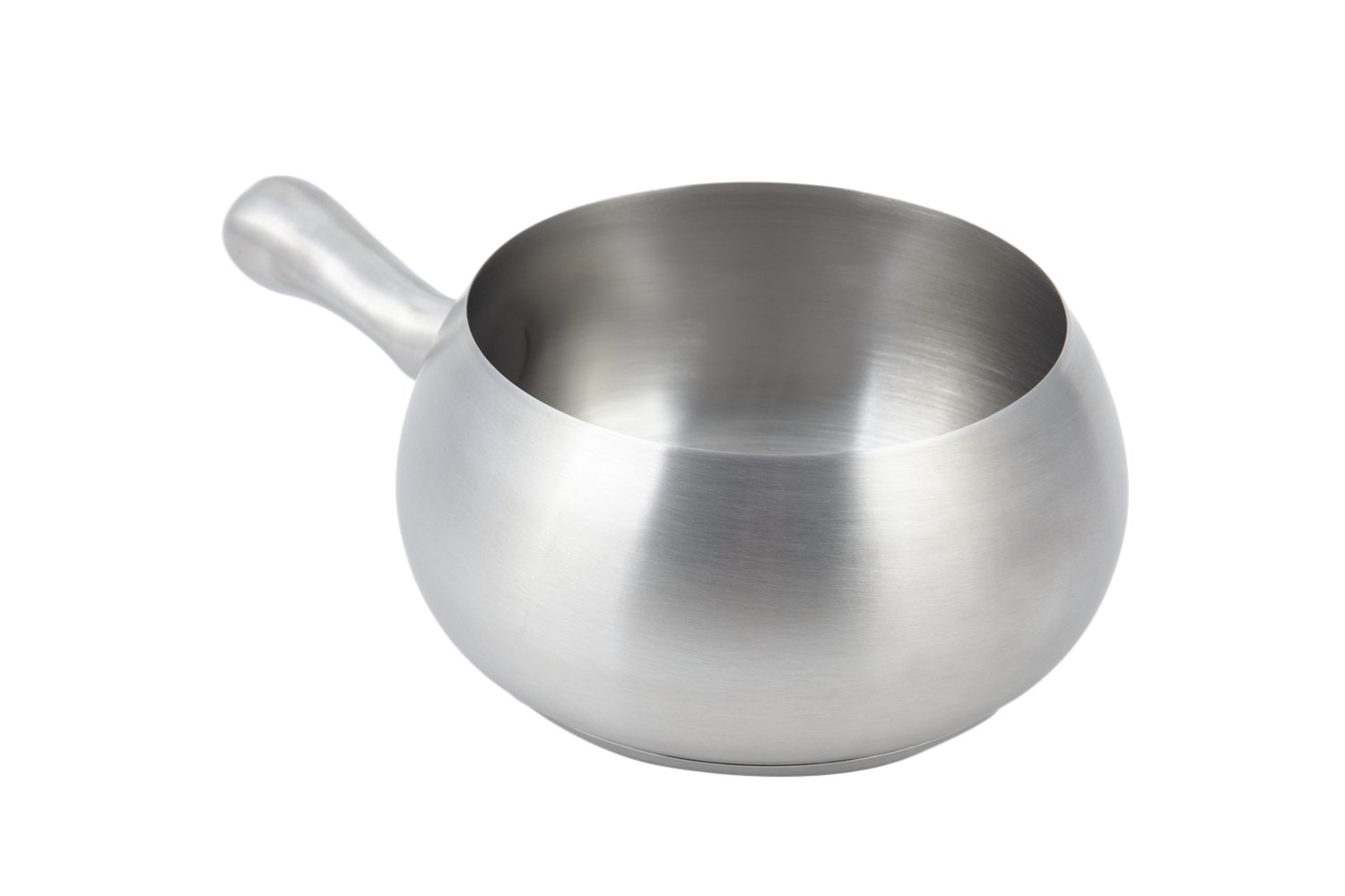 Bon Chef 5050SS Stainless Steel Induction Fondue Pot with Induction Bottom, 2-1/8 quart Capacity, 6'' Diameter x 4'' Height by Bon Chef