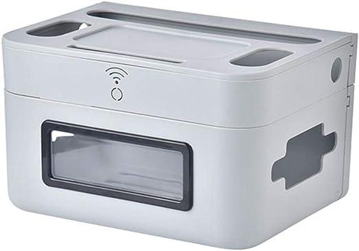atteryhui - Caja de almacenamiento para routers WiFi de pared, con ...