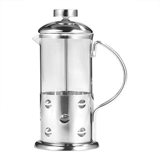 Y-GRMM Vidrio de Acero Inoxidable Prensa Francesa Taza de café ...