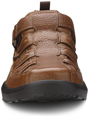 Dr. Comfort Fisherman Men's Therapeutic Diabetic Extra Depth Sandal: Chestnut 11.0 X-Wide (3E/4E) Velcro by Dr. Comfort (Image #6)