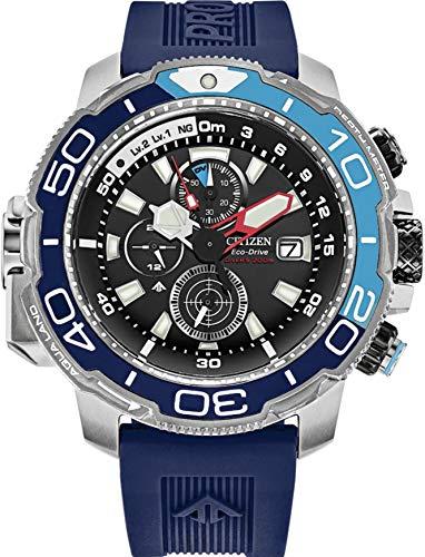 Citizen BJ2169-08E Men's Promaster Blue Rubber Strap Dive Watch