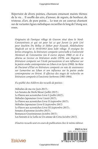 Létang Aux Roses French Edition Abdelnahime Meghzili