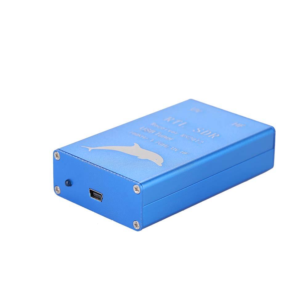 Walmeck RTL.SDR Radio USB Tuner Receiver RTL2832U+R820T2 100KHz-1.7GHz UHF UV HF by Walmeck