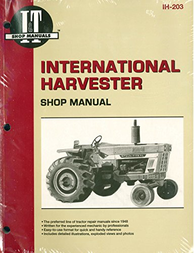 Harvester Tractor Service Manual 454 464 484 574 584 674 766 786 826 886 966 986 1026 1066 1086 ()