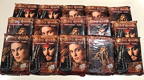 15 Packs X Pirates of the Caribbean Pocketmodel Game ()