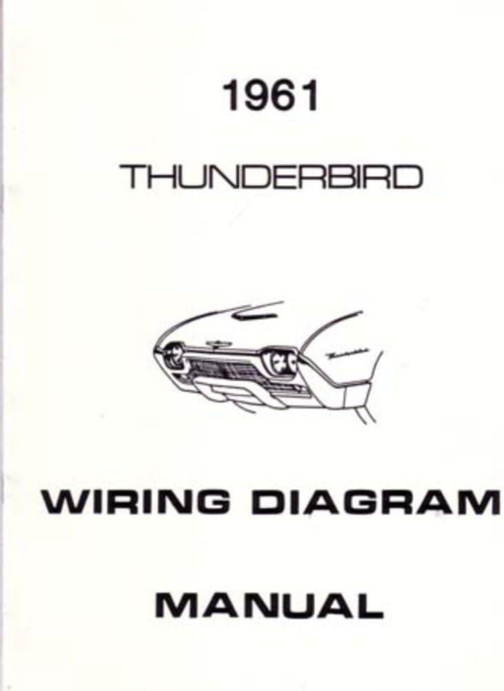 ac electrical wiring diagrams amazon com bishko automotive literature 1961 ford thunderbird  bishko automotive literature 1961 ford