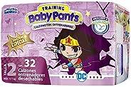 Baby Pants, Calzón Entrenador para Niña, Talla 2 (8-12 kg), Contenido 192 Calzoncitos Desechables