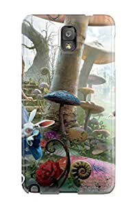 Best Awesome Alice In Wonderland Movie Flip Case With Fashion Design For Galaxy Note 3 7907326K28235234