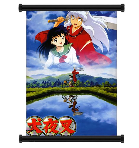Inuyasha Anime Fabric Wall Scroll Poster  Inches. -Inuyasha-
