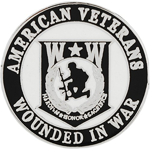 American Veterans Wounded Warrior Pin Military Patriotic Gifts