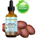 """Botanical Beauty BRAZILIAN BURITI FRUIT OIL 100% Pure / Natural / Cold Pressed Carrier Oil / Undiluted. For Face, Body, Hair, Lip And Nail Care. """"One The Richest Natural Sources Of Vitamin A, E And C."""" From The Amazon Rainforest. (0.5 Fl.oz- 15ml.)"""