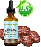 "Brazilian BURITI FRUIT OIL 100% Pure / Natural / Cold Pressed Carrier Oil / Undiluted. For Face, Body, Hair, Lip and Nail Care. ""One the richest natural sources of vitamin A, E and C."" From the Amazon Rainforest. (0.5 fl.oz- 15ml.)"