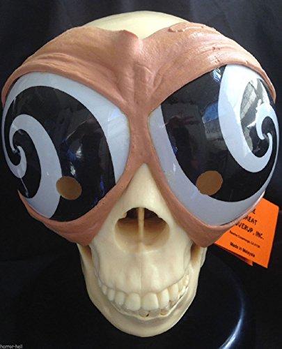 Demon Hunter Cosplay Costume (Funny Alien Bug Eyes HYPNOTIC MASK GOGGLES Cosplay Costume Party Gag-BLACK SWIRL)