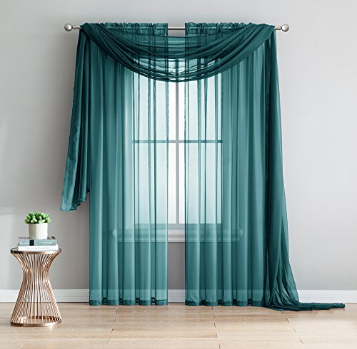 Amazing Sheer 2 Piece Curtains Treatment product image