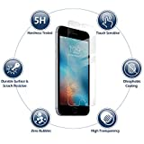 BestSuit TPU Anti-Scratch Screen Protector and Guard for the iPHONE 6s with Self-Healing Properties, Fingerprint & Oils Resistant, Same Military Grade Protection Displayed on Fighter Jets