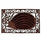 Esschert Design LH65 Cast Iron Hedgehog Doormat