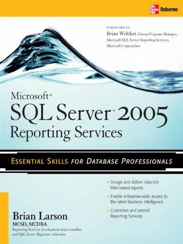 Microsoft SQL Server 2005 Reporting Services Pdf