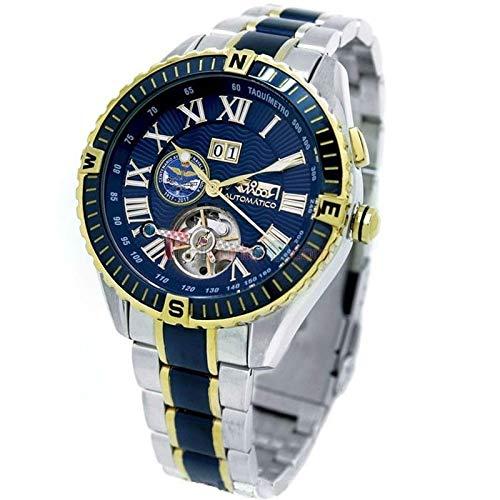 Reloj Aviador Centenario Flotilla Aeronaves Automático Caballero AV-1200: Amazon.es: Relojes