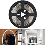 LinkStyle LED Vanity Mirror Lights Kit for Makeup Dressing Table Vanity Set 13ft Flexible LED Light Strip 6000K Daylight White with Dimmer and Power Supply, DIY Home Kitchen