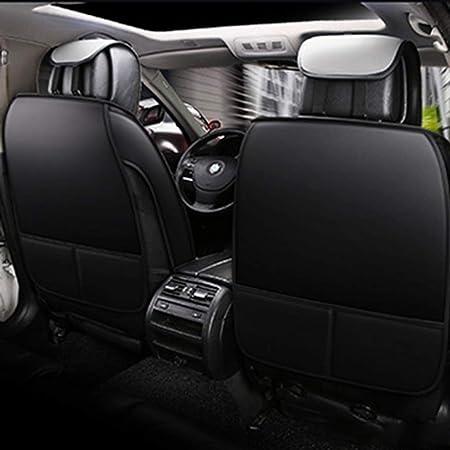 Jdkilp Auto Sitzbezüge Set Leder Full Set Universal Vorne Hinten Sitz Auto Innen Kissen Fit 5 Sitze Auto Atmungsaktiv Komfortabel Color Gray Auto