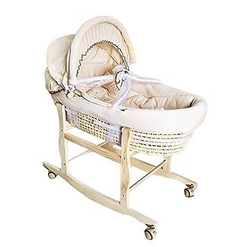 Cuna cama infantil parque infantil Cuna de cuna para bebé recién ...