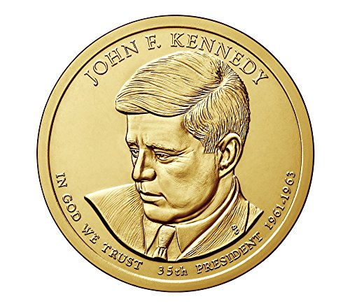 2015 P Presidential John F Kennedy Dollar Choice Uncirculated