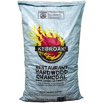Kebroak KHWC40LB 40-Pound Hardwood Lump Charcoal Bag