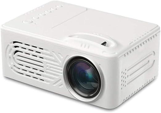 DjfLight Proyector Full HD 1080P, Proyector portátil de 12 W para ...