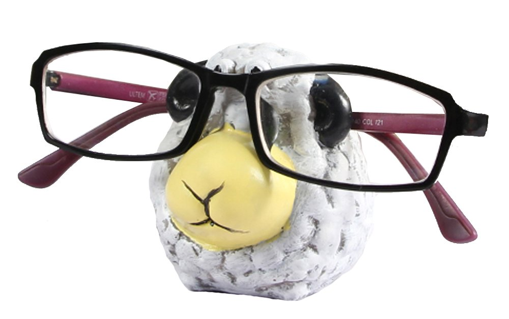 Animal Resin Magnetic Eyeglass Holder,Spectacle Holder Eyeglass Display Stand Sunglasses Holder Home Decoration