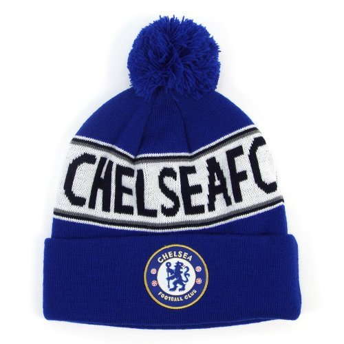 Chelsea Text Cuff Knitted Hat - Multi-colour ()
